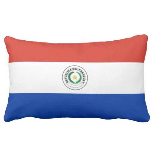 Flag Of Paraguay Pillows