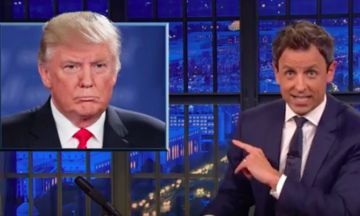 Seth Meyers Destroys 'Pervert On The Bus' Donald Trump