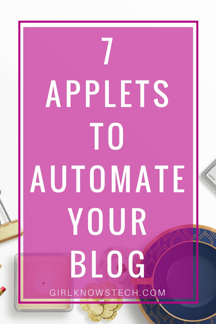 Do you find your blogging tasks repetitive? If so, learn how to automate your tasks with applets and IFTTT, totally free!