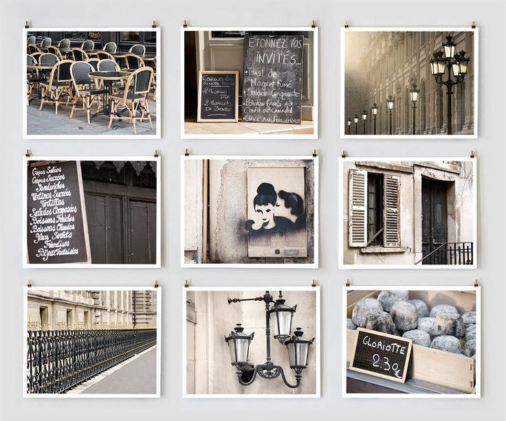Best Mood Board Postcard Images On   Paris