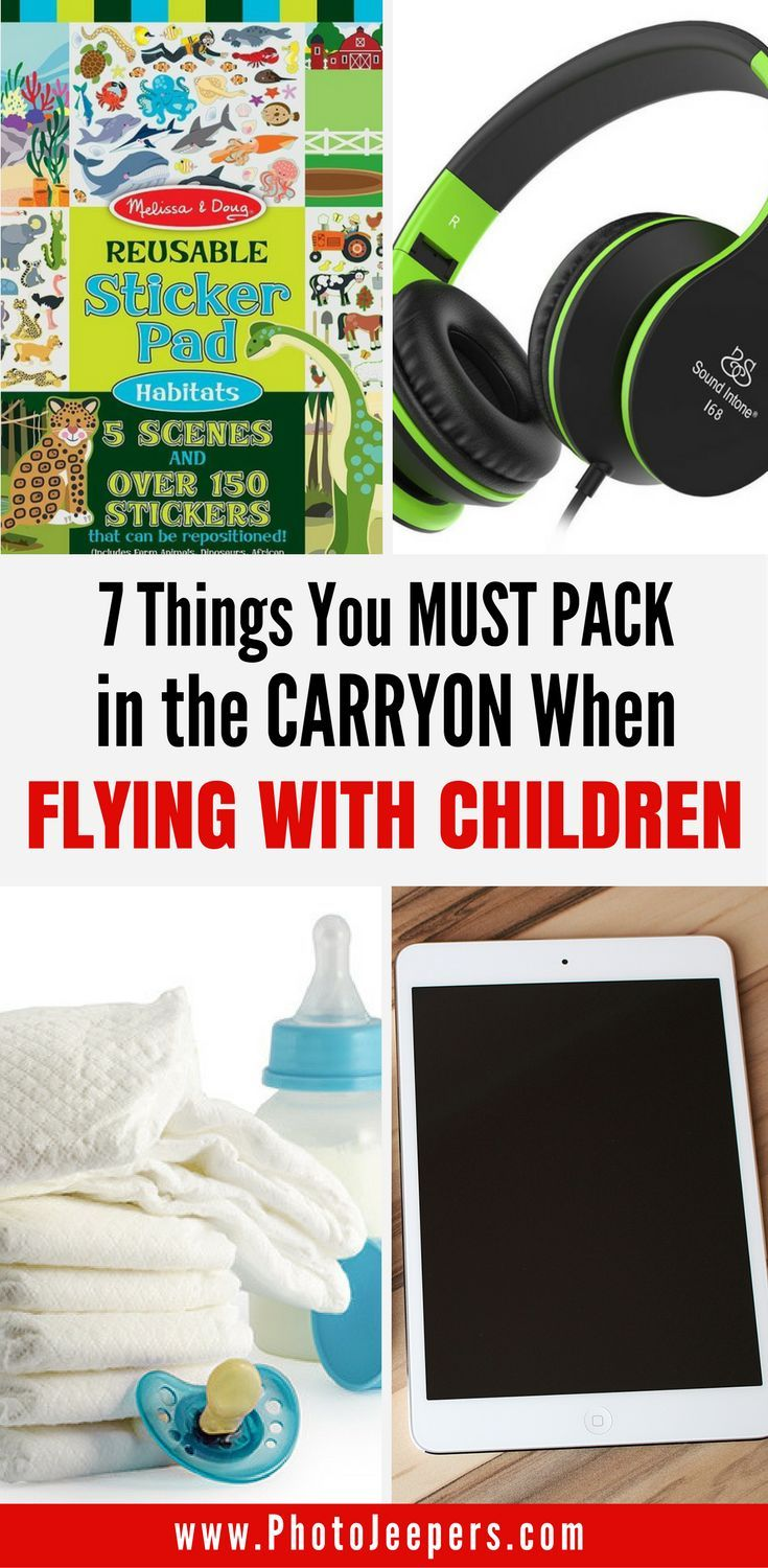 Flying with kids can be challenging and slightly terrifying. Here are our best tips for flying with children including what to pack (and not pack!) in your carry-on bag to tame the chaos, and how to keep everyone's sanity intact. This will be your lifesaver on your next trip, so don't forget to save this to your travel board!