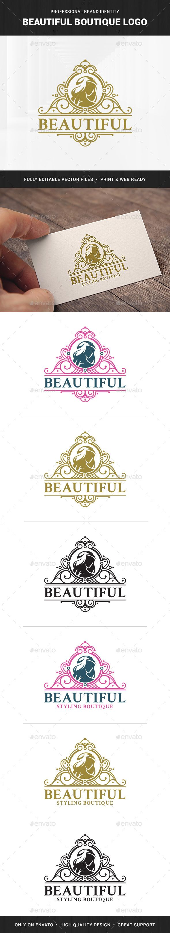 Boutique Logo Template - Humans Logo Templates