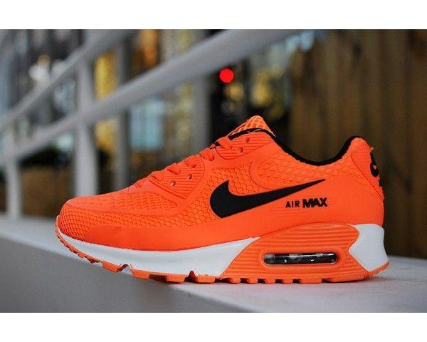 Kids Nike Air Max 90 Orange 6809331-036