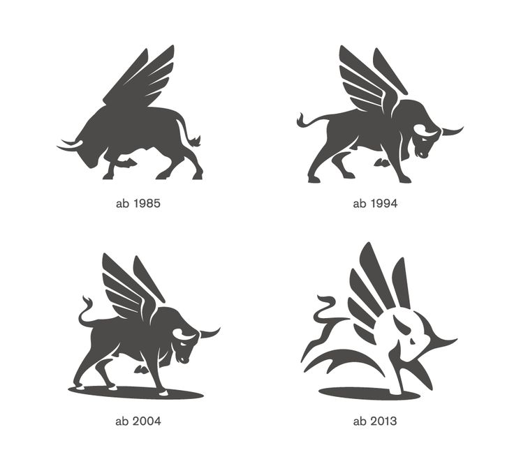 Flügelstier / Winged Bull by Karl Design #logo #mark