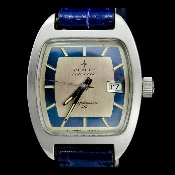 ZENITH-RESPIRATON pour famme, aoutomatique, avec date. Disponible immédiatement sur notre site: http://www.joaillerie-royale.com/114-montres-vintage
