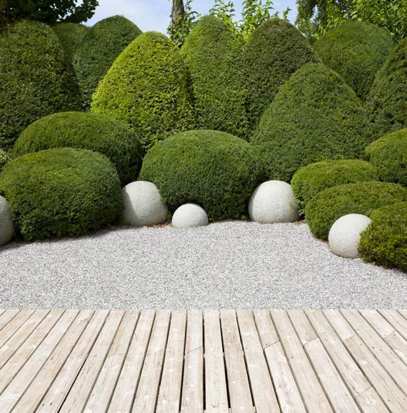 280 best Gartengestaltung images on Pinterest Decks, Landscaping - gartengestaltung modern kies
