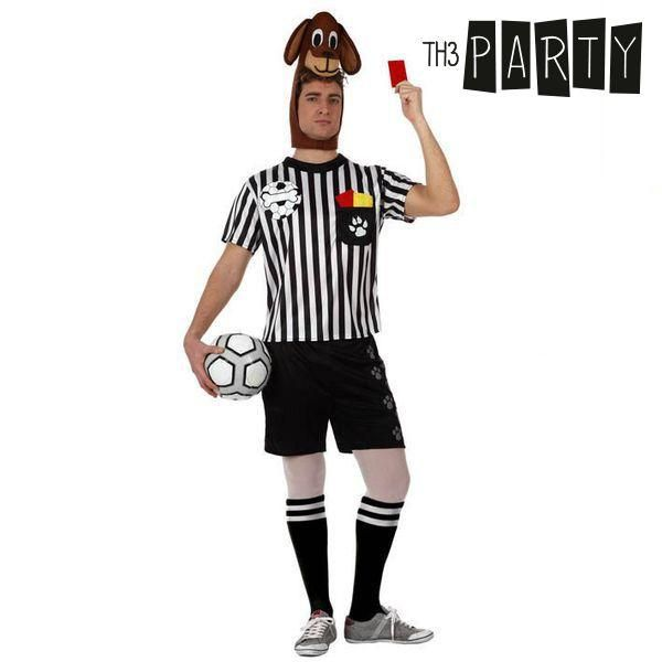Costume for Adults Th3 Party 5275 Football referee dog