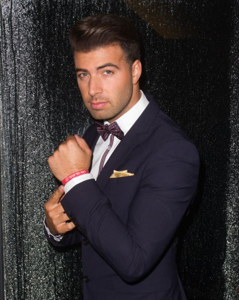 EXCLUSIVE COVERAGE JenCarlos Canela backstage at the First Annual Live Like Bella's Ball fight against pediatric cancer at Jungle Island on September...