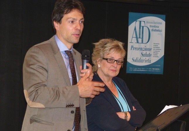 «Vivere» il diabete – Di Nadia Clementi Ne parliamo con la Presidente dell'Associazione Trentina Diabetici Flavia Fontana  Il link http://www.ladigetto.it/permalink/54984.html
