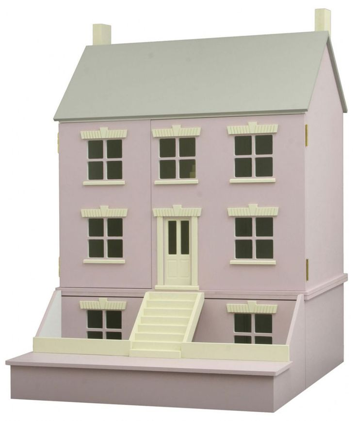 Delightful Starter House Is A 12th Scale Ready To Assemble Kit Dolls House Kit From  Barbaras Mouldings
