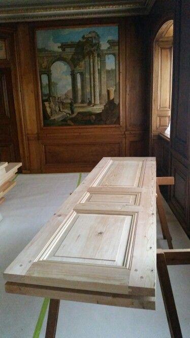 Handmade door for a 18th century interior