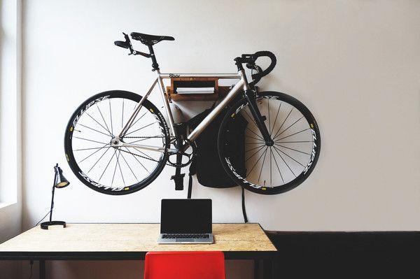 STOCKHOLM+ Wooden Bicycle Shelf