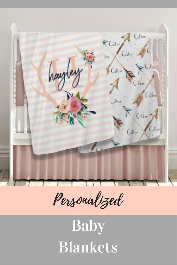Best 25 personalised baby blankets ideas on pinterest baby boy these blankets are too cute love them personalized baby blankets negle Images