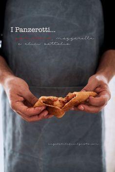 I panzerotti con pomodoro, mozzarella e alici sottolio, per Taste&More n.18