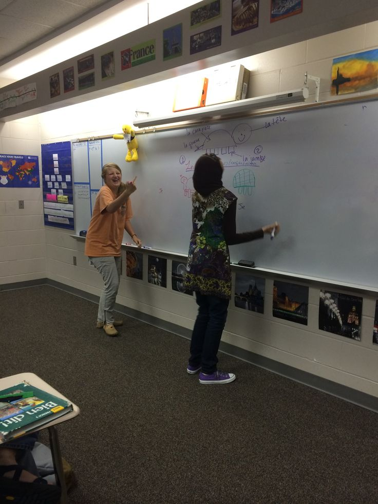 It's a good day when my students look like this during class! We went super low-tech last week for our review of present tense verb conjugations with the best review game ever: Tuez la Tortue. I w...