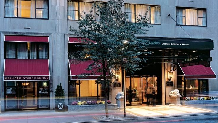 Loews Regency - My favorite #NYC hotel.