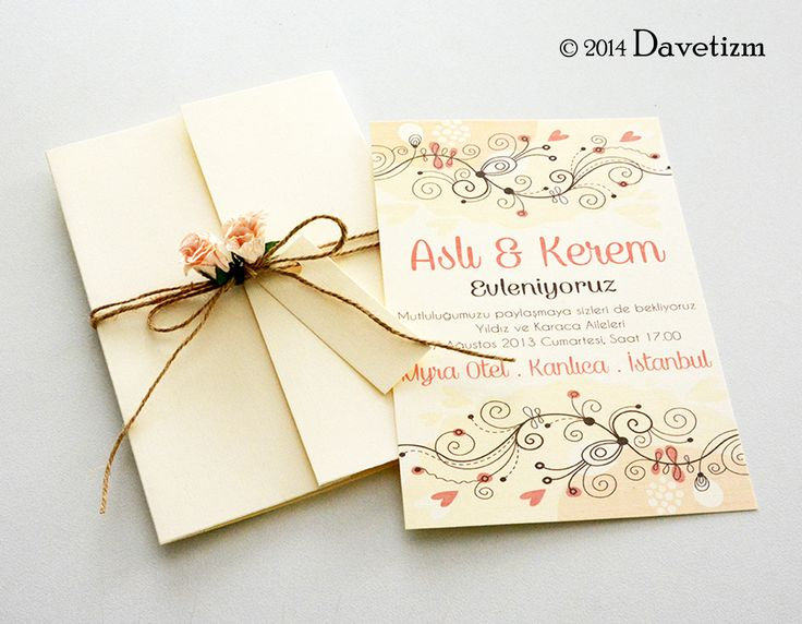 Davetizm, Düğün Davetiyesi, F01, Floral, Davetiye Seti, Tasarım, Wedding, Invitation, Design, Blossom, Bahar Dalı, Şeftali, Peach, Güller, Roses, Kağıt Çiçek, Flower, Name Tags, İsimlik