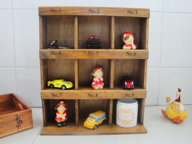 gratis verzending zakka opslag kast houten kist houten kist 9 digitale opbergdoos vintage ridel