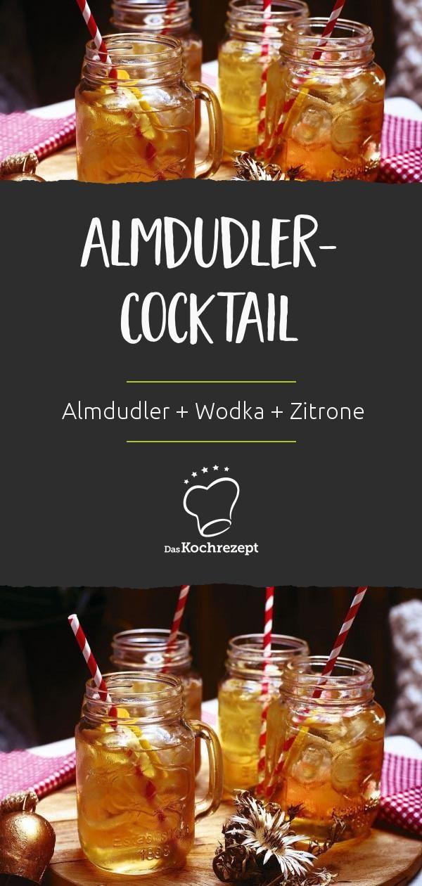 Almdudler Cocktail Rezept In 2020 Winter Drink Winter