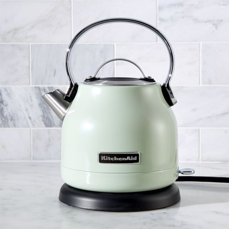KitchenAid ® Pistachio Electric Kettle | Crate and Barrel