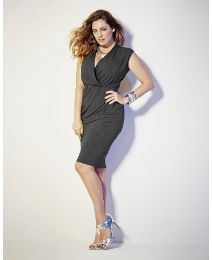 """Kelly Brook"" Kelly Brook Jersey Dress at Simply Be"