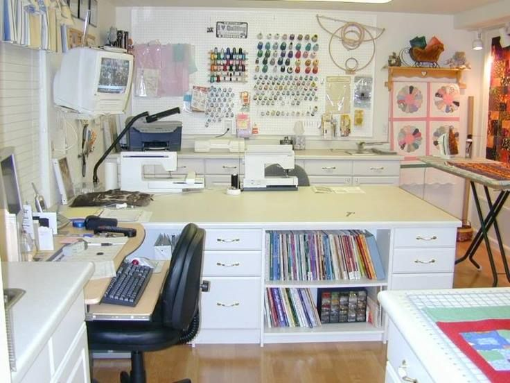 Sewing room joy studio design gallery best design for Sewing room layout