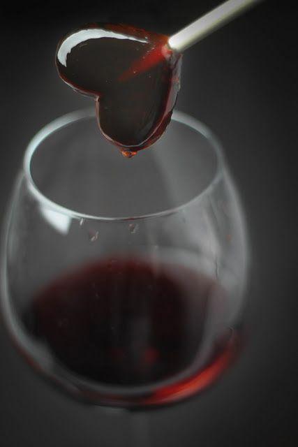 red wine lollipops!