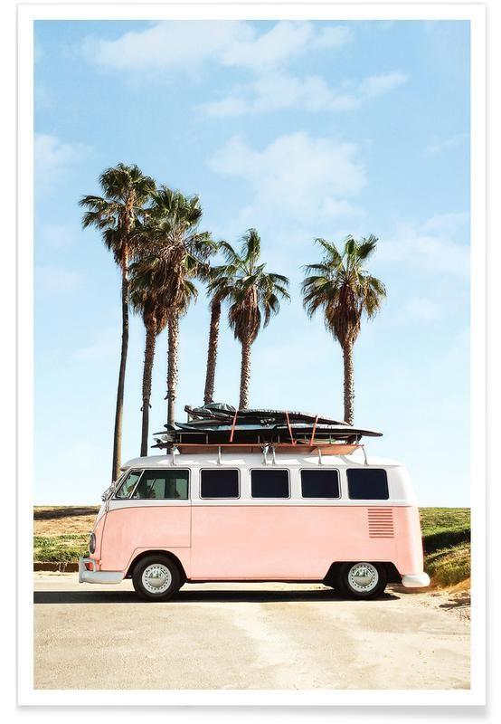 Venice Beach als Poster von Fuentes Photo | JUNIQE