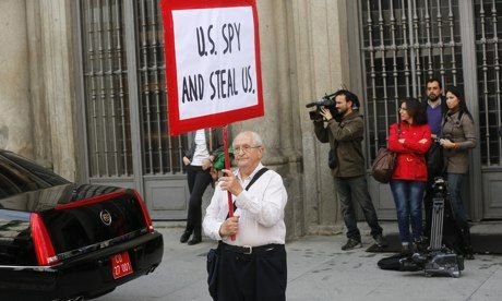Spain colluded in NSA spying on its citizens, Spanish newspaper reports  El Mundo says it has document detailing collaboration between US ...