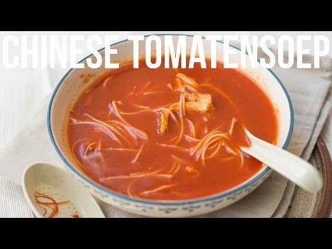 Chinese tomatensoep - OhMyFoodness