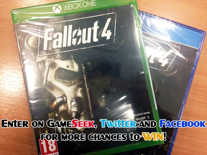 GameSeek Giveaway - Enter here to win Fallout 4 (PS4 or Xbox One) Source: GameSeek Giveaway - Enter here to win Fallout 4 (PS4 or Xbox One) | GameSeek Gaming News