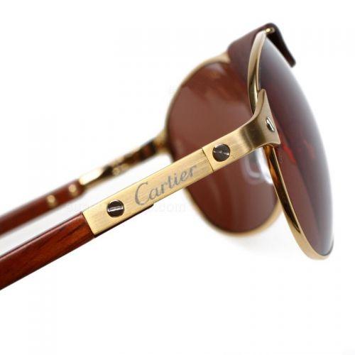 b5f1fa5bf7 Men s Cartier Gold Optical Glasses