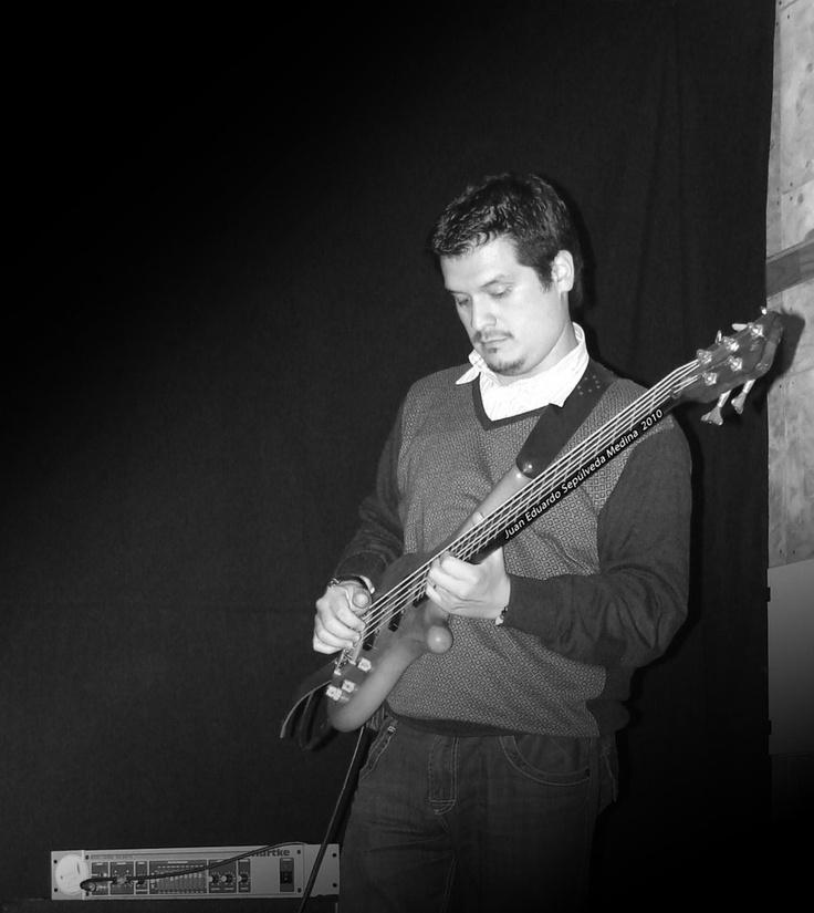 Bassist Black -n- White by shepozone.deviantart.com on @deviantART
