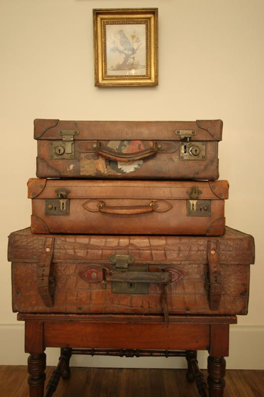 Old French Suitcases