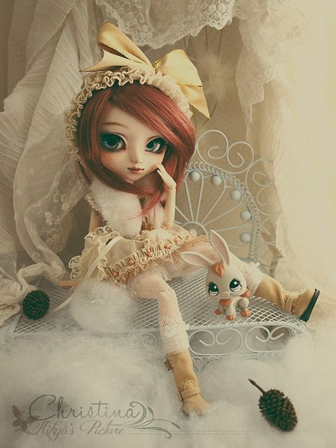 Doll Pullip Custom Christina - SOLD - by Kikyô ★⋆*· (busy- I don't take order), via Flickr