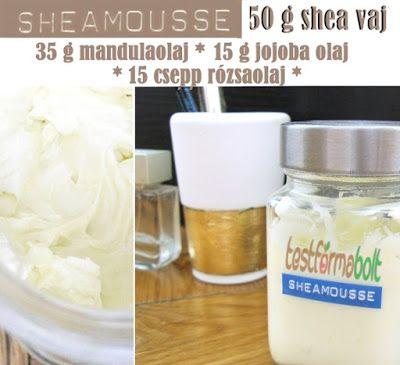 Test és Forma: Sheamousse száraz bőröd megmentője. Egyszerű, házilag elkészíthető RECEPT!
