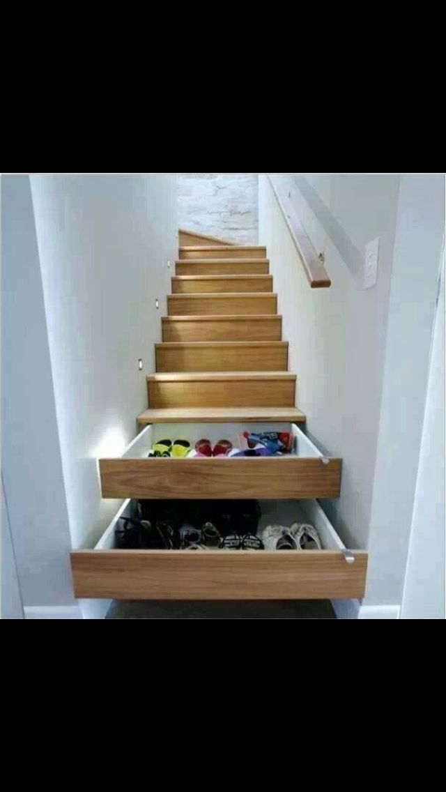 Stairs or shoe cupboard