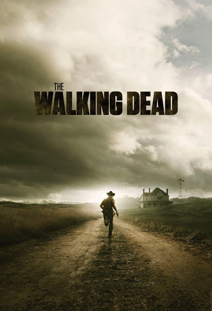 "Poster da 2ª temporada de ""The Walking Dead"""