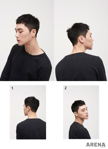 Undercut Korean Hairstyle For Men 2017