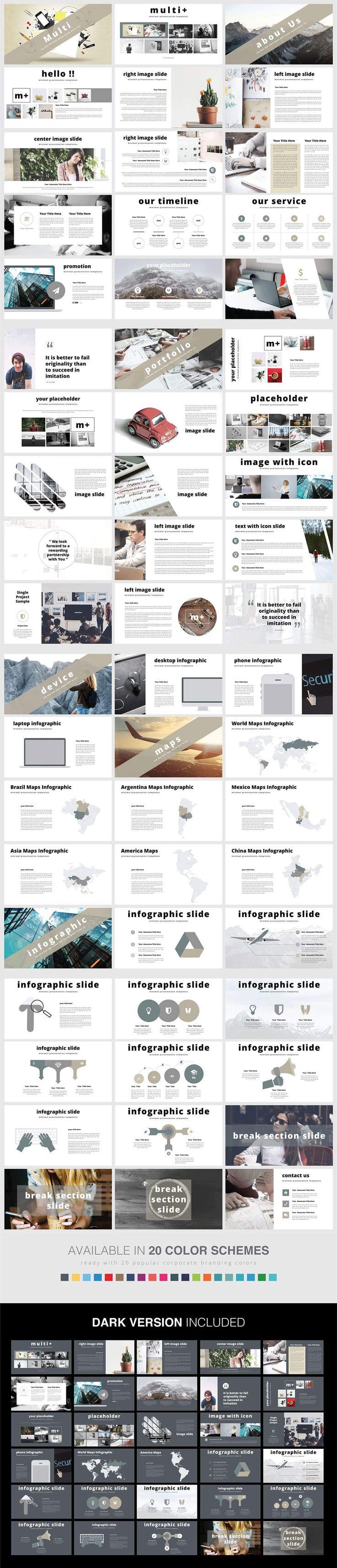 Free Multi Presentation PowerPoint