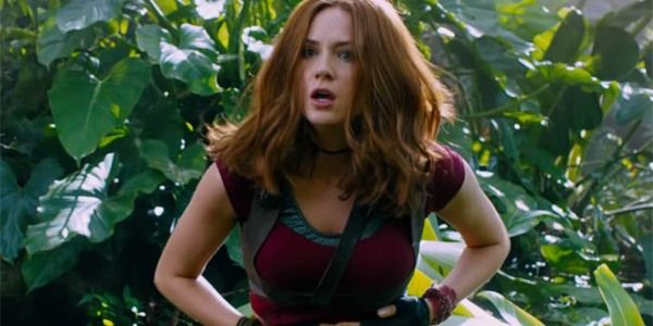 Watch Karen Gillan Dress Up As The Pink Power Ranger          There's nothing quite as exciting as when fandoms collide. This week, Avengers: Infinity War actress Karen Gillan donned the original costume of the Pink Power Ranger and then she danced around, using moves she also employed in Jumanji: Welcome to the Jungle. There's so much fan love going on here, I can't even handle it. You can check out Karen Gillan trying out some cosplay, below.    Attention!!! This is Just an Announce to…