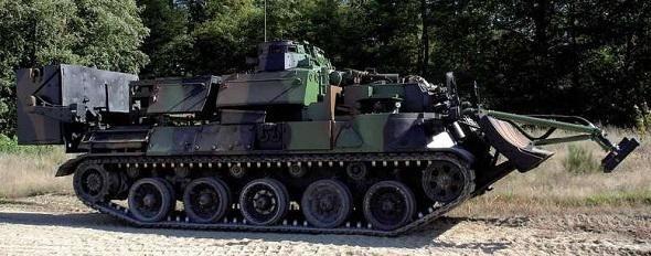 Nexter a livré le dernier Engin Blindé du Génie-VALorisé à l'armée de Terre - Zone Militaire