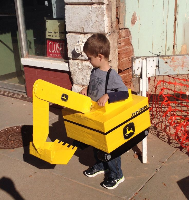 how to make a kids excavator