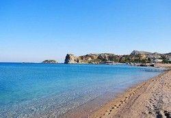 Stegna beach