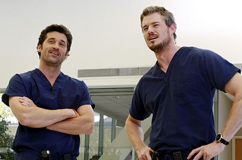 Dr. McDreamy & Dr. McSteamy.. Yummy