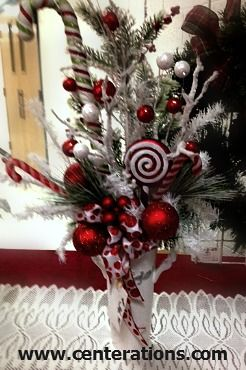 11 best centerpieces for your corporate christmas party images on christmas centerpieces holiday decorations to create impress and save by doing yourself solutioingenieria Image collections