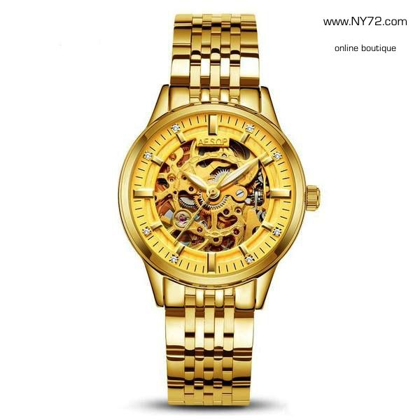 You can see the time through me.. Luxury Sapphire Crystal watch! 