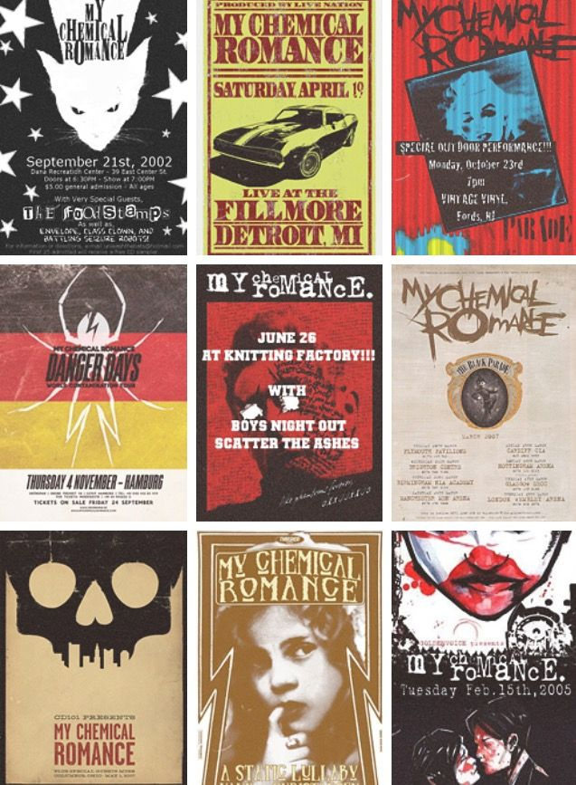 MCR Posters