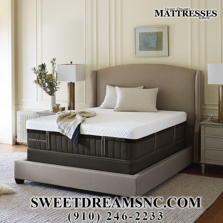 Come Experience Sweet Dreams in our bed. #StearnsandFoster  #mattress #bed #sweetdreamsmattresses #sweetdreams #southernpinesnc #moorecounty #newhome