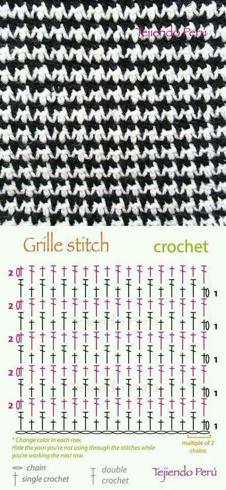 39 best Punti uncinetto images on Pinterest   Crocheting patterns ...